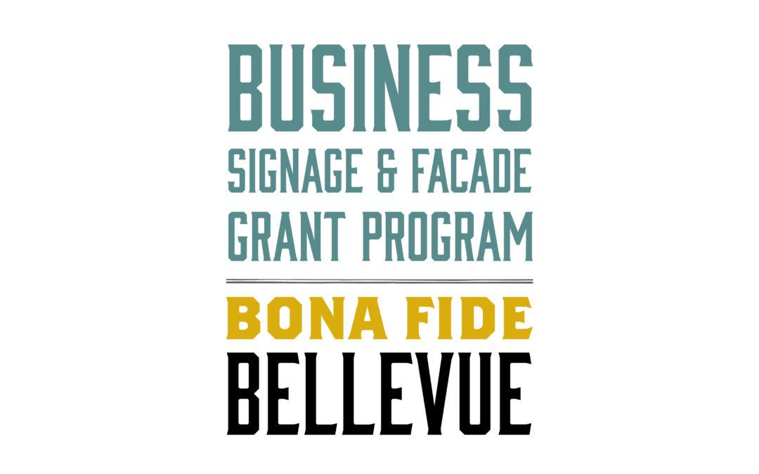 Bellevue Signage Program – Apply Now!