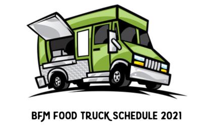 Bellevue Farmers Market Food Truck Schedule 2021
