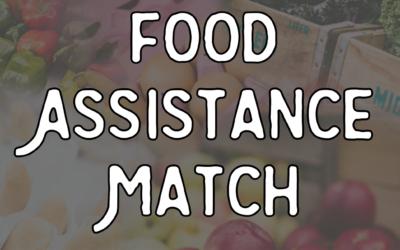 Bellevue Farmers Market 2021 Food Assistance Match